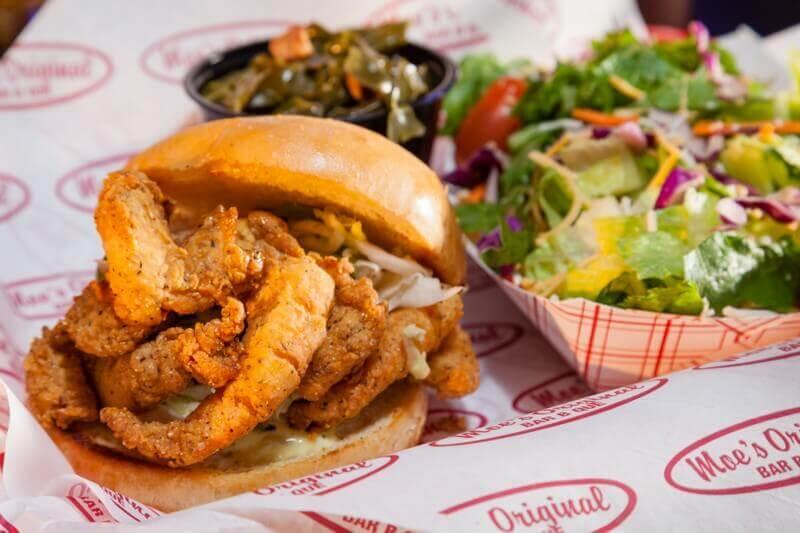 Fried Shrimp Moe Boy Sandwich Meal
